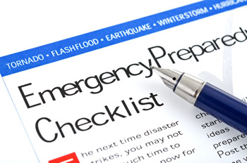 emergency preparedness pica