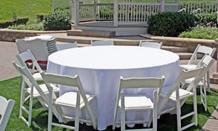 table chair rental imagea