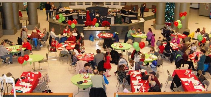 Pizza with Santa at Macedonia Recreation Center