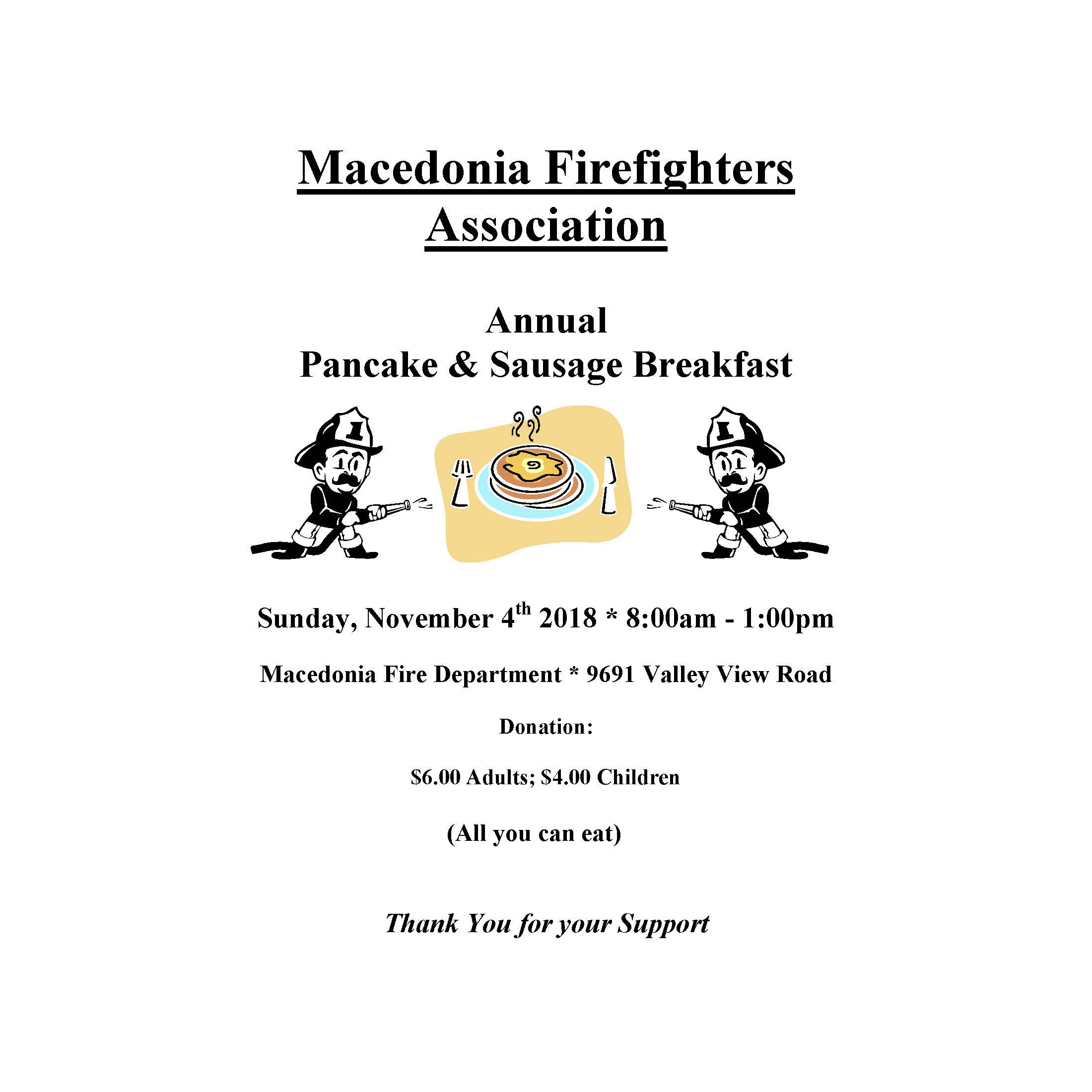 Fire Pancake Breakfast