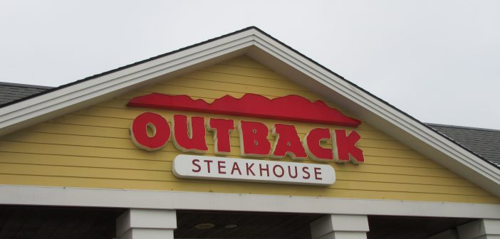 CONGRATULATIONS TO THE BUSINESS OF THE MONTH … Outback Steakhouse.
