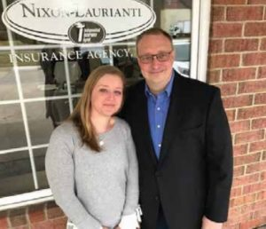 CONGRATULATIONS TO THE BUSINESS OF THE MONTH ... Nixon-Laurianti Insurance Agency