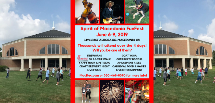 The Spirit of Macedonia Funfest is on its way!!